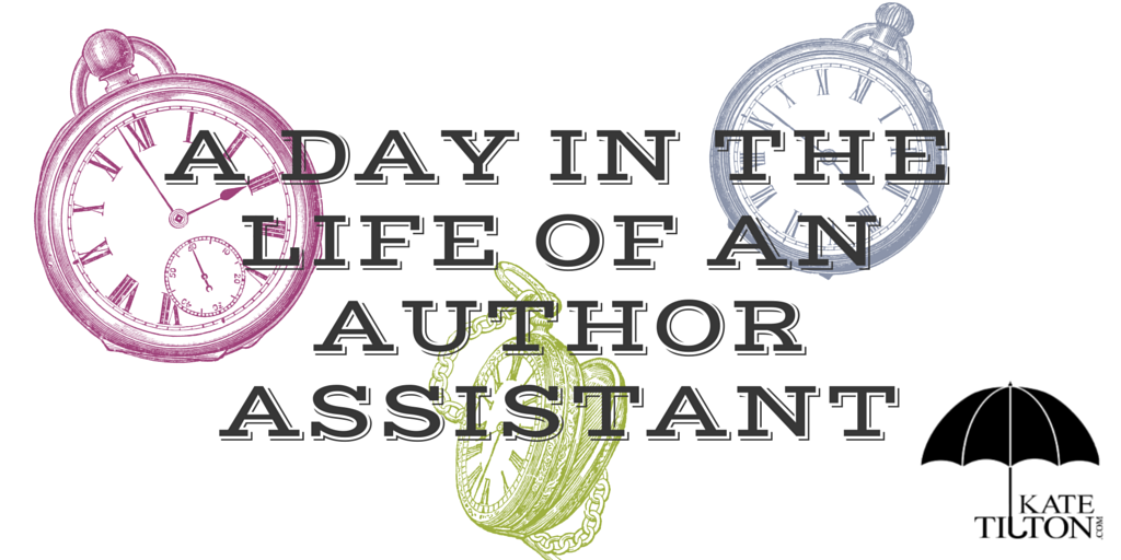 A Day in the Life of an Author Assistant