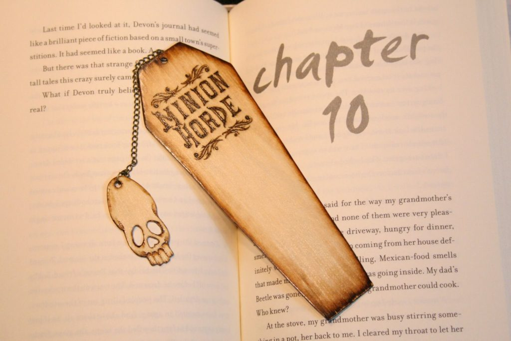 Minion Horde bookmark